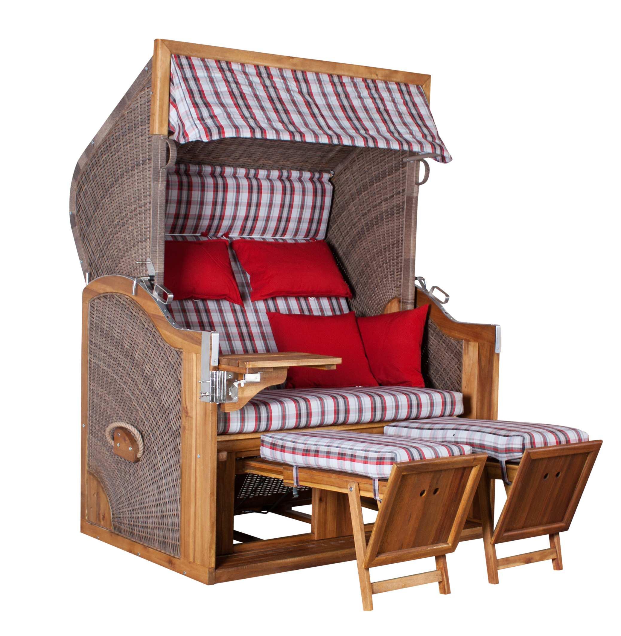 strandkorb pure greenline 140xl pe grey pumpen holzum gmbh. Black Bedroom Furniture Sets. Home Design Ideas