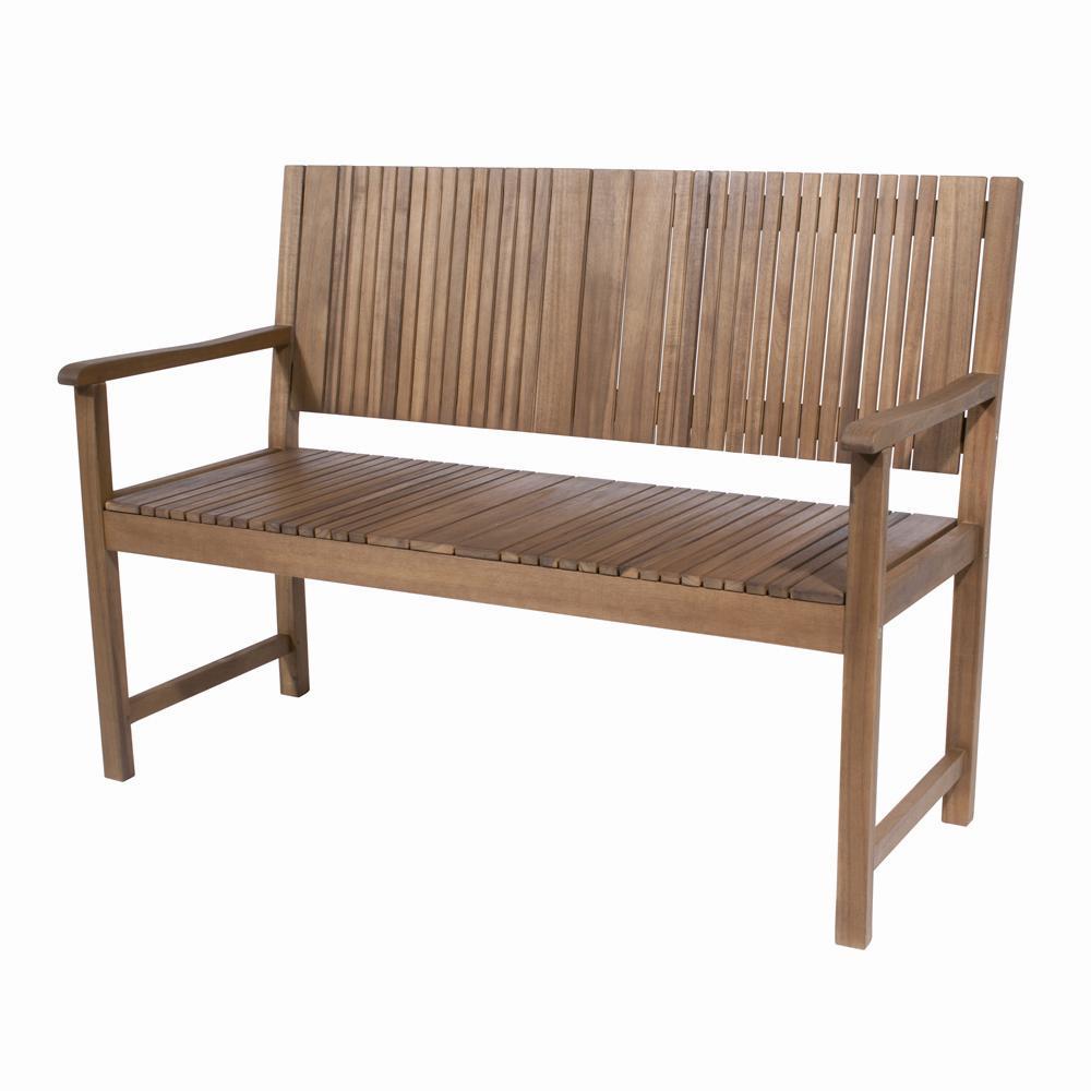 holzbank aus akazienholz pumpen holzum gmbh. Black Bedroom Furniture Sets. Home Design Ideas