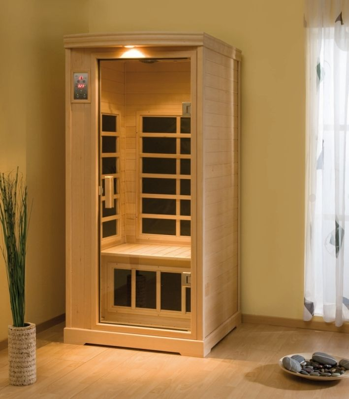 infrarotkabinen sauna infrarot w rmekabinen f r ihr zuhause. Black Bedroom Furniture Sets. Home Design Ideas