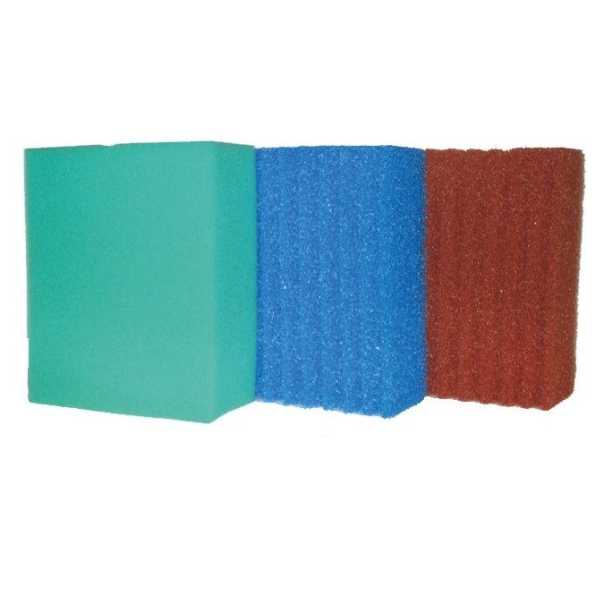 4 x Blau Rot u Grün  Filterschwamm für Biotec 5.1