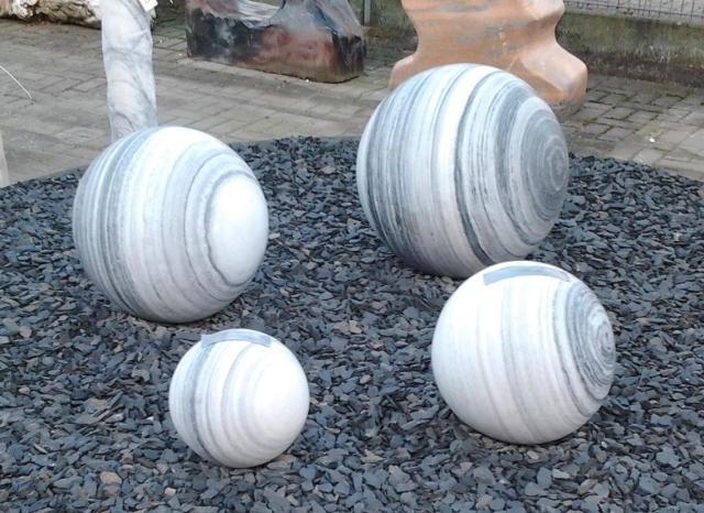 Marmor Kugel poliert ohne Bohrung – Pumpen Holzum GmbH
